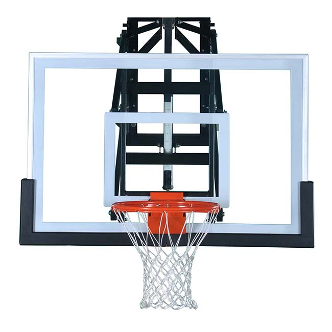 Model #PRO54. 6' wall mount basketball hoop.