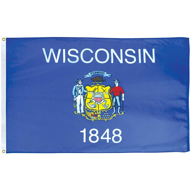 WI35 US outdoor endura flag 3x5