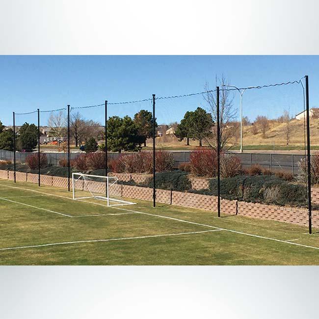 Model #PREMIUM. Soccer backstop nets.