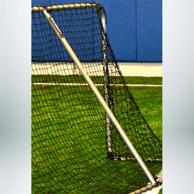 Model #ALUMSA. Support arm for folding aluminum soccer goal.