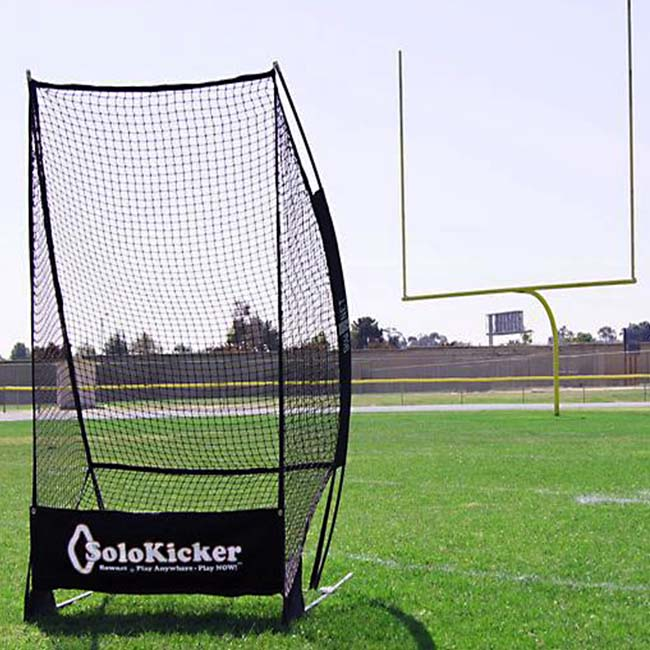 Model #BNSOLOKICKER. Bownet solo kicker to practice punting and kicking.