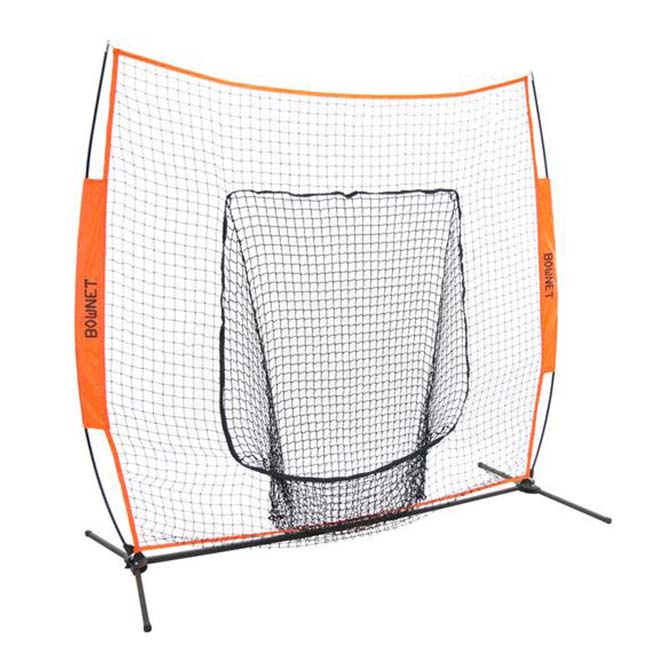 Model #BOWBIGMOUTH. Bownet Big Mouth softball net.