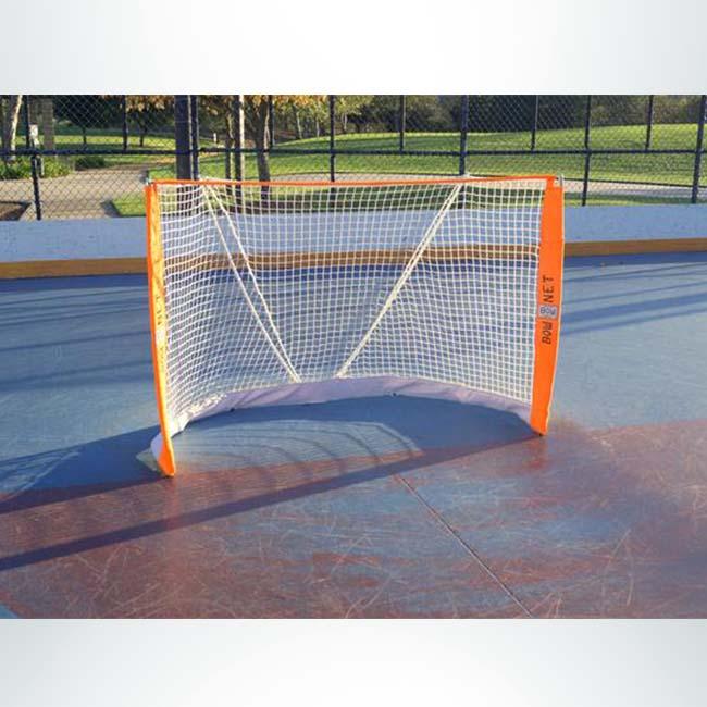 Model #BOWROLLERHOCBAG. Bownet Goal Roller Hockey Goal. 6'x4'