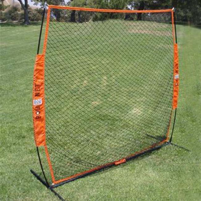 Model #BOWSOFTTOSS. Bownet Foldable Soft Toss Softball Training Net.