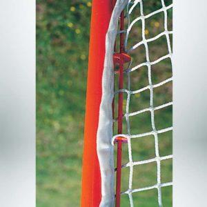 Lacrosse goal lena net attachment system.