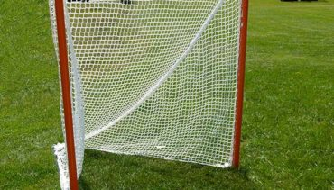 Model #LXGKGO. Official Lacrosse Goal with Lacing Back Bar.