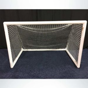 "Model #MSGC3RD46. 3"" round 4' x 6' soccer goal. Channel net attachment."
