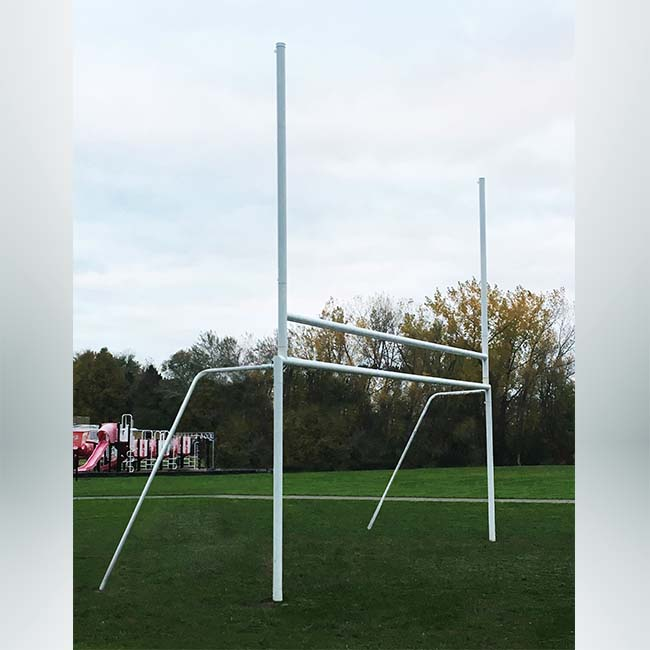 Model #P824RD4SGFGBGHS. Combination rugby and soccer goal.