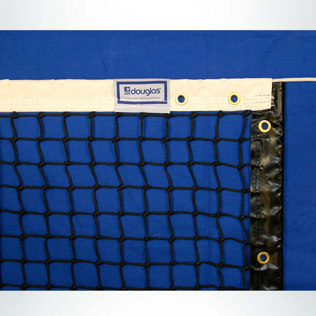 Model #TN30. Tennis Net with Vinyl Coated 2 Ply Headband.