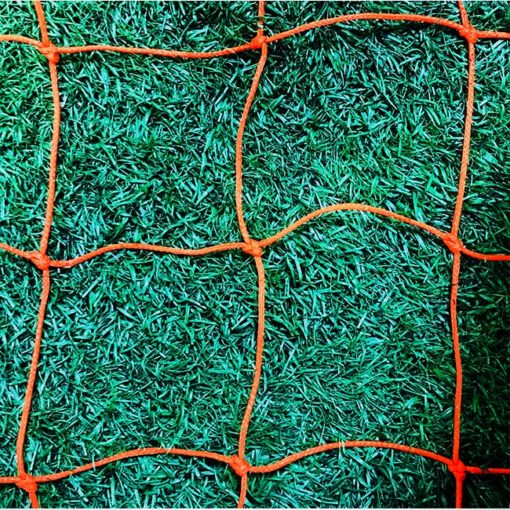 3mm Braid. 4.75in. Mesh Net Orange.