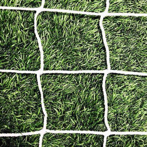 "3mm 4"" mesh net white."