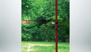 Model #BYH25. Backyard Volleyball System.