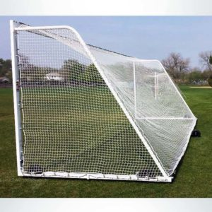 Model #M88W824. 8' x 24' Ultimate wheeled soccer goal.