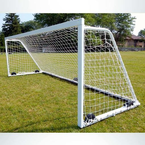 Model #M88W618. 6' x 18' ultimate wheeled soccer goal.