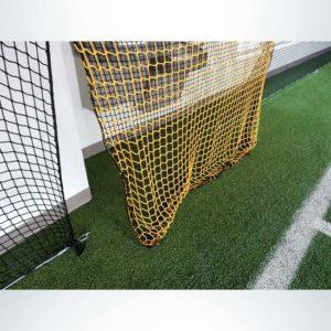 Froedtert Rehab Facility Barrier Net Door Cutout.