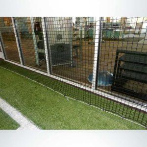 Froedart Rehab Facility. Protective Netting for Athletic Facility.