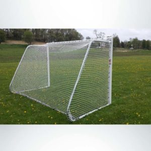 Model #612PC. Movable Aluminum Soccer Goal With Cable Net. 6x12. Back of Goal.