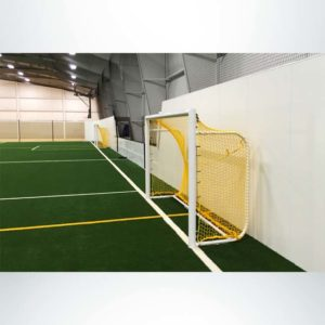 Model #MAL612. 6x12 Movable Aluminum Soccer Goal with Custom Back Depth.
