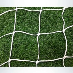 "4mm braid 4.75"" mesh net white."