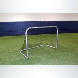 """Model #KGSTRD464. 6' x 4' budget aluminum small sided soccer goal with 4"""" mesh net."""