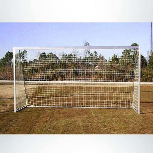 Model #SGM42824W. Movable aluminum soccer goal.