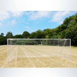 Model #PSGE2824. Economy Movable Aluminum Soccer Goal with back stay. No back bar.