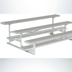 Model #kgnb03075gstd 3 row 7 and a half foot bleacher for soccer field or football field or athletic field