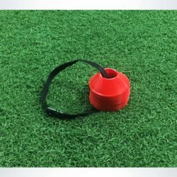 Model #MDCRED. Mini disc cone for soccer field marking.