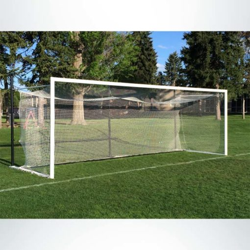 Model #MS803P. Movable Stadium Cup Soccer Goal With Backstays.