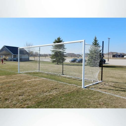 Model #MS803P. Movable Stadium Cup soccer goal.