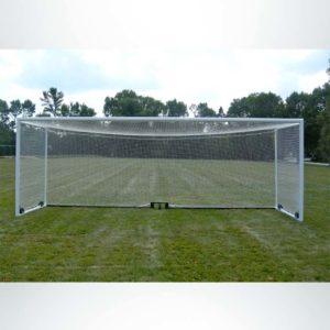 Model #M88WRD4824BOX66. Stadium box style wheeled soccer goal.