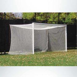 """Model #S80. Stadium Cup soccer goal. 2"""" mesh net."""