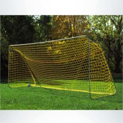 Model #ECO824. 8' x 24' Economy Soccer Goal made of 1 5/8 in. steel.