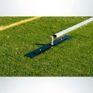 Model #EFSG2824. 8' x 24' Economy Flat Soccer Shooting Goal Base.