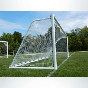 Model #ELITE4RD66186. Elite Soccer Goal. 6ft 6in x 18ft 6in.