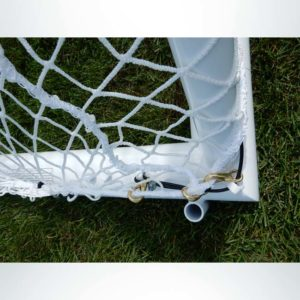 Model #ELITE4RD66186. Elite Soccer Goal. 6ft 6in x 18ft 6in. Side Panel.