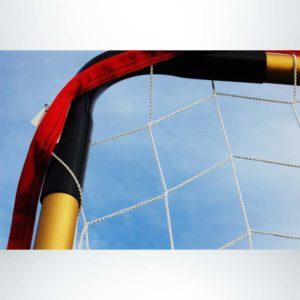 Model #FFIT. Flat soccer shooting goal corner.