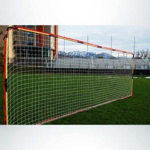Model #FFIT. Flat soccer shooting goal.