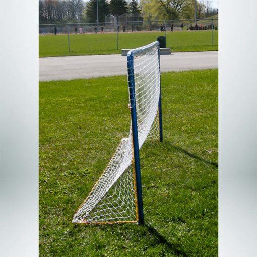 Model #IA46. 4' x 6' portable interactive soccer goal.
