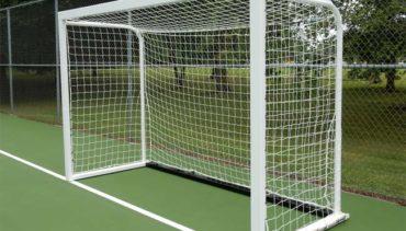 #M8342FUTSAL. Movable steel futsal goal.