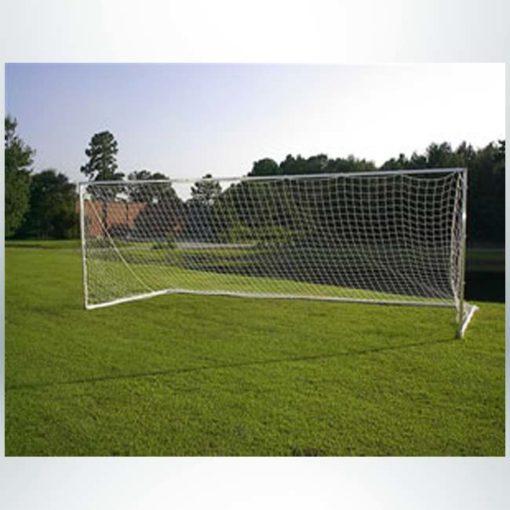 "Model #SGE2824. 2"" square aluminum soccer training goal."