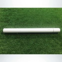"Model #SL4RD. Ground sleeve for semi-permanent 4"" round soccer goals."