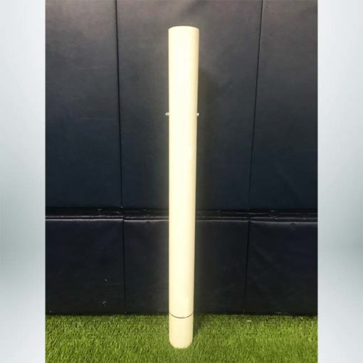 """Model #SL4RD. Ground sleeve for semi-permanent 4"""" round soccer goals."""