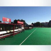 Custom shelters Rutgers field hockey