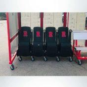 Custom Leather Seats in Custom Team Shelter.