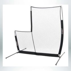 Model #BOWSCREENPROELITE. Portable baseball L screen.