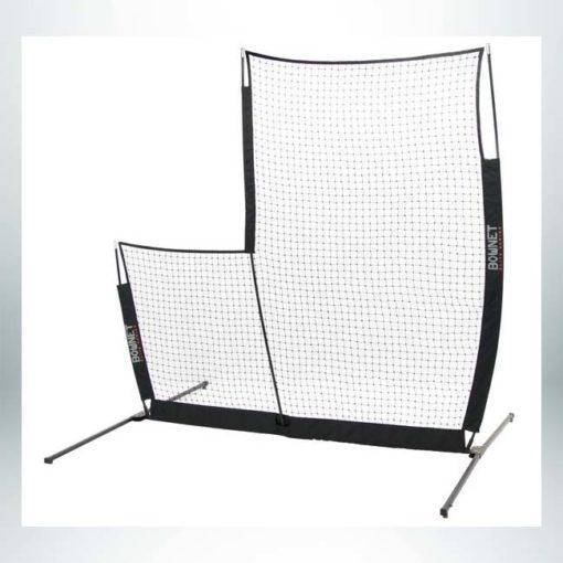 Model #BOWSCREENPROELITE. Portable baseball L screen.