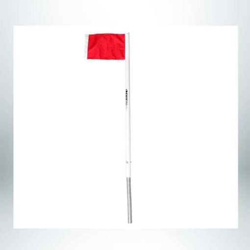 Model #CFOSL. International corner flag for permanent use.