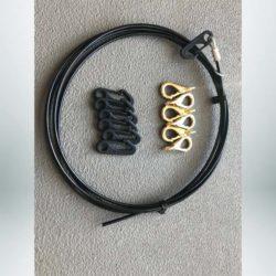 Cap cable hooks.