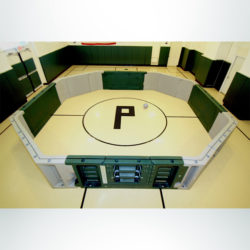 Model #GAGA22. Gaga Ball Pit green and grey.
